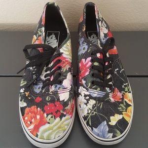Chaussures Vans Femmes Taille 7 Floral IGt1I3LvAt